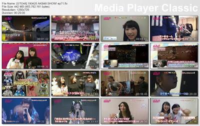 150425 AKB48 SHOW! Ep 71 Subtitle Indonesia
