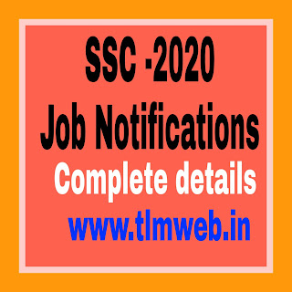 Comprehensive information on job notifications of SSC 2020