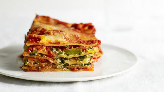 Vegetable Lasagna | Vegetarian Lasagna Recipe