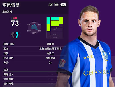 PES 2020 Connor Wickham Face by obeymyself