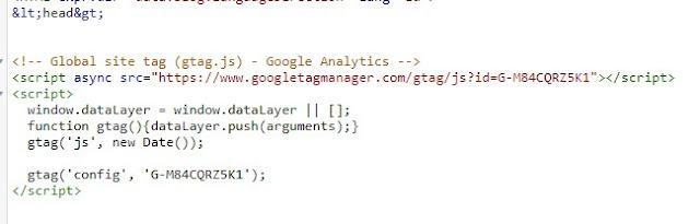 Pemasangan gtag.js