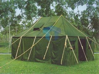Toko, tempat menyediakan dan menjual tenda di bandung