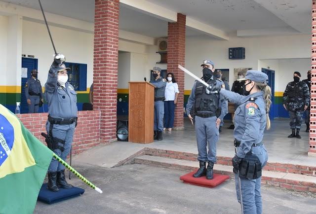 Polícia Militar realiza troca de comando do 7º BPM em Rosário Oeste