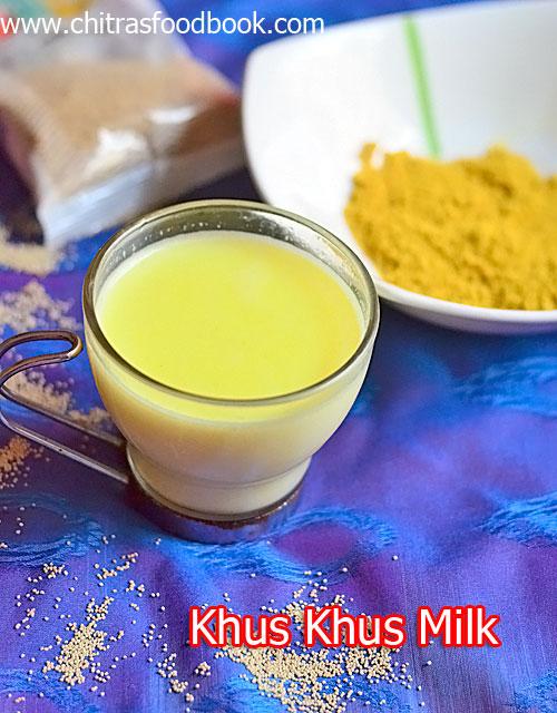 Khus khus milk