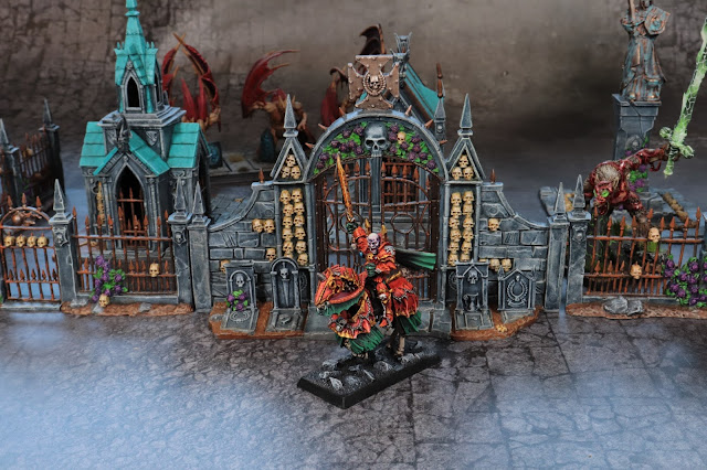 WFB Red Duke Miniature 5th Edition