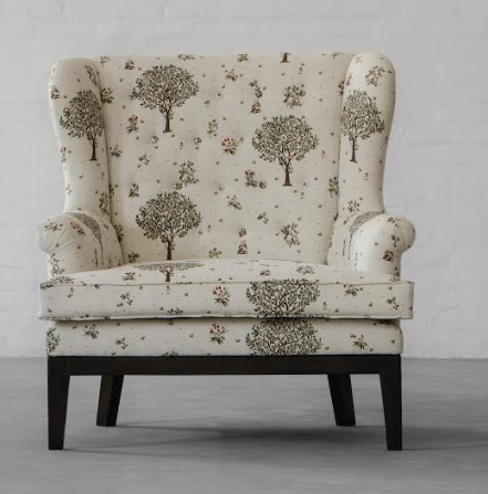 PARIS LOVESEAT COLLECTION_ SUMMER GARDEN_Front View
