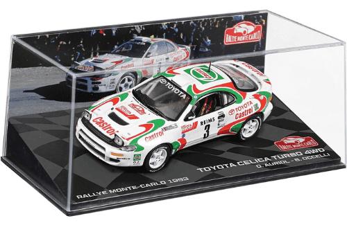 collezione rally monte carlo Toyota Celica turbo 4wd 1993 Auriol - Occelli