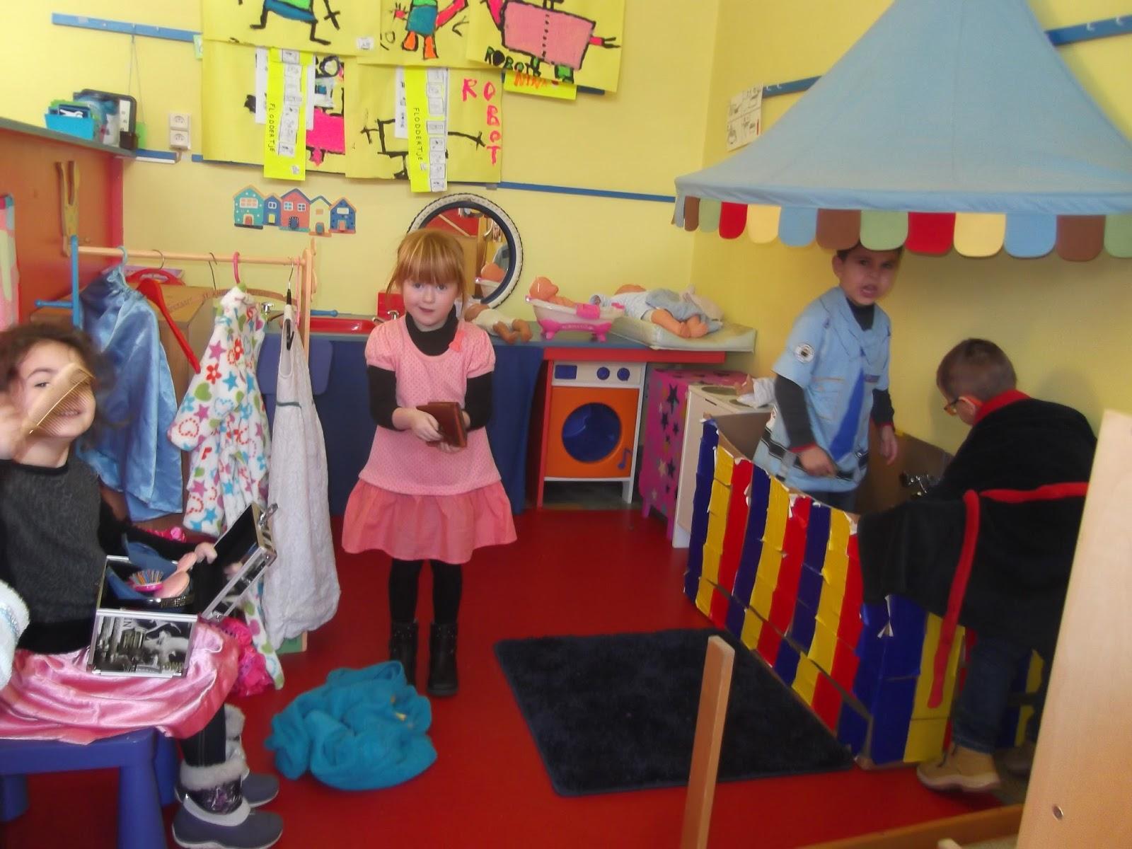Mariaschool: thema badkamer 2e en 3e kleuterklas