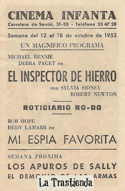 Programa de Cine - El Inspector de Hierro