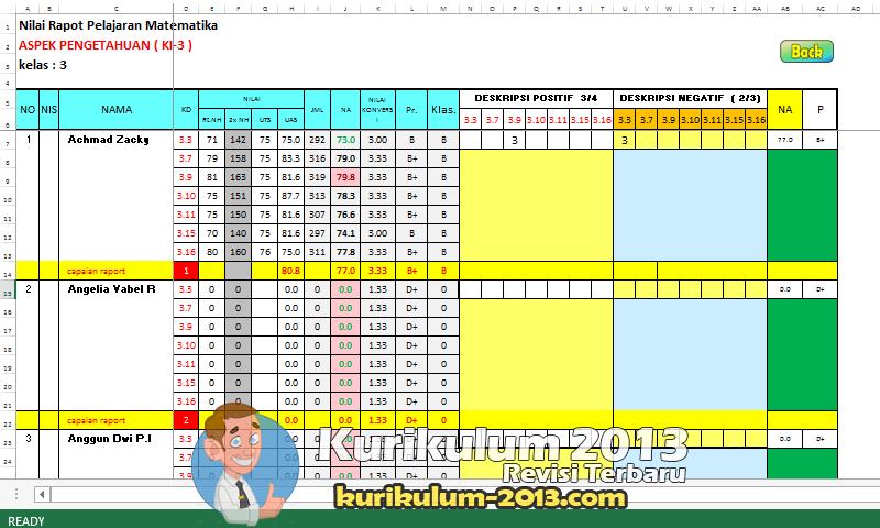 Download Aplikasi Raport Kurikulum 2013 Revisi 2017 - Aplikasi Raport Kurikulum 2013 Revisi 2016