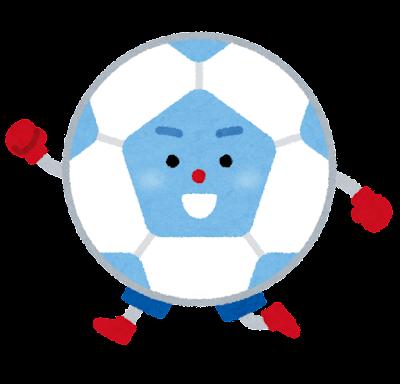 サッカーのキャラクター