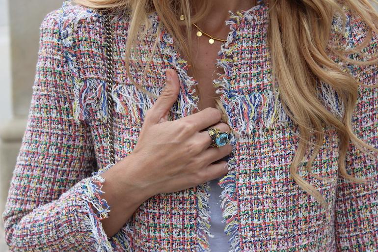 Trajes de chaqueta mujer estilo chanel