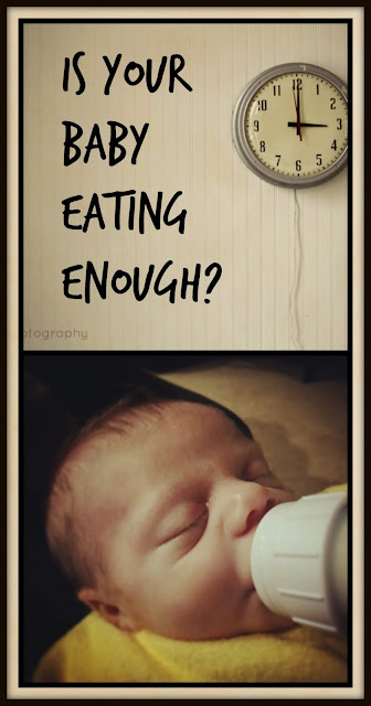 Is your baby eating enough