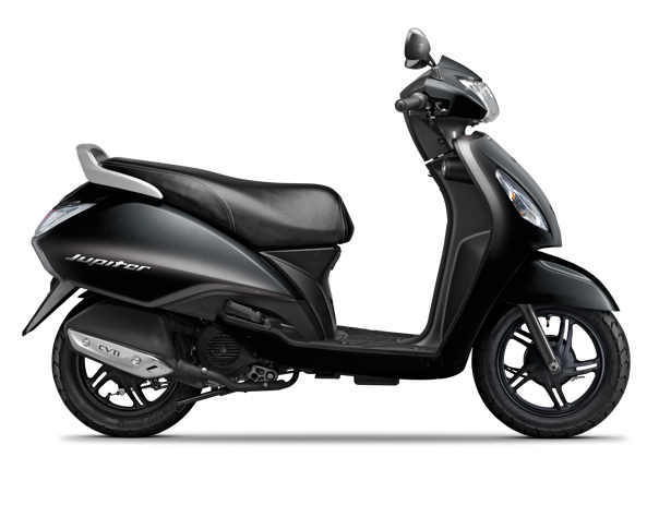 TVS Jupiter Midnight Black Colour
