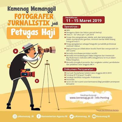 Fotografer Ingin Naik Haji Gratis? Silakan Daftar di Kemenag