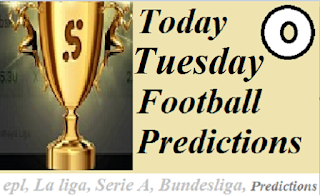 Today's Free Football Betting Tips, Prediction and Odds