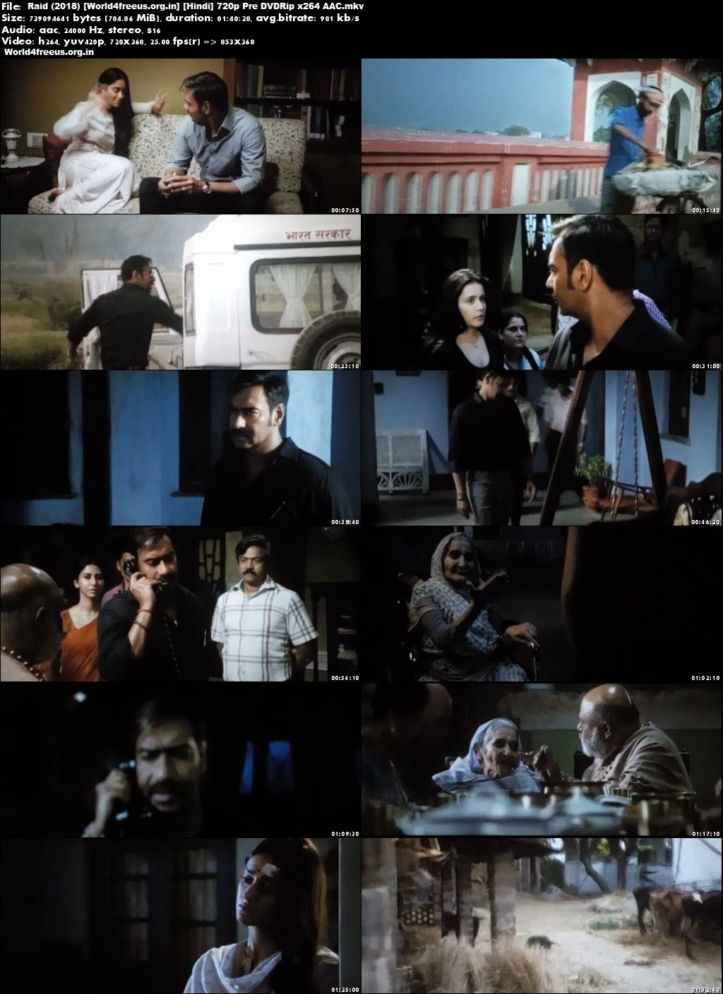 Raid 2018 Full Hindi Movie Download Hd In pDVDRip 700Mb