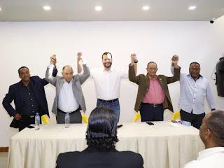 Rafael Paz recibe apoyo de líderes sindicales; reafirma su compromiso con la justicia social
