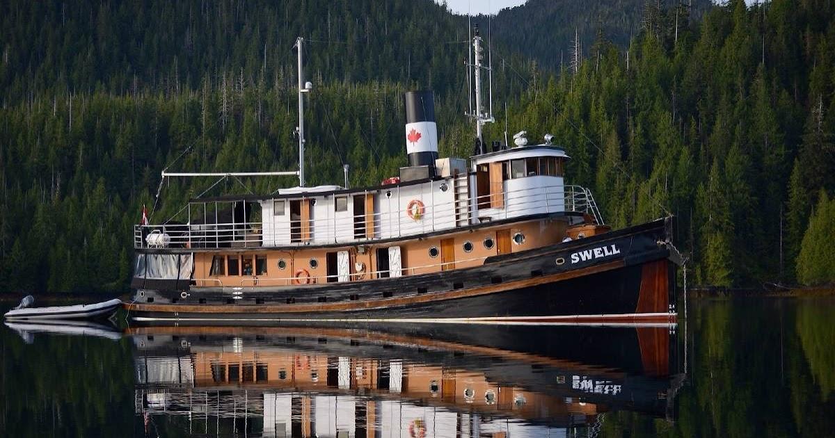 Vintage Tugboat cruise in Alaska