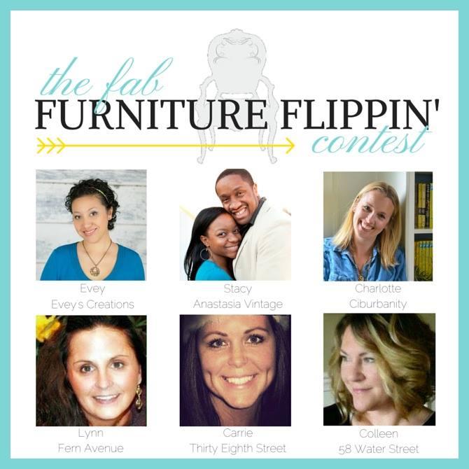 Mauve Love, Fab flippin furniture contest, Pure and Original, project, Domicile 37