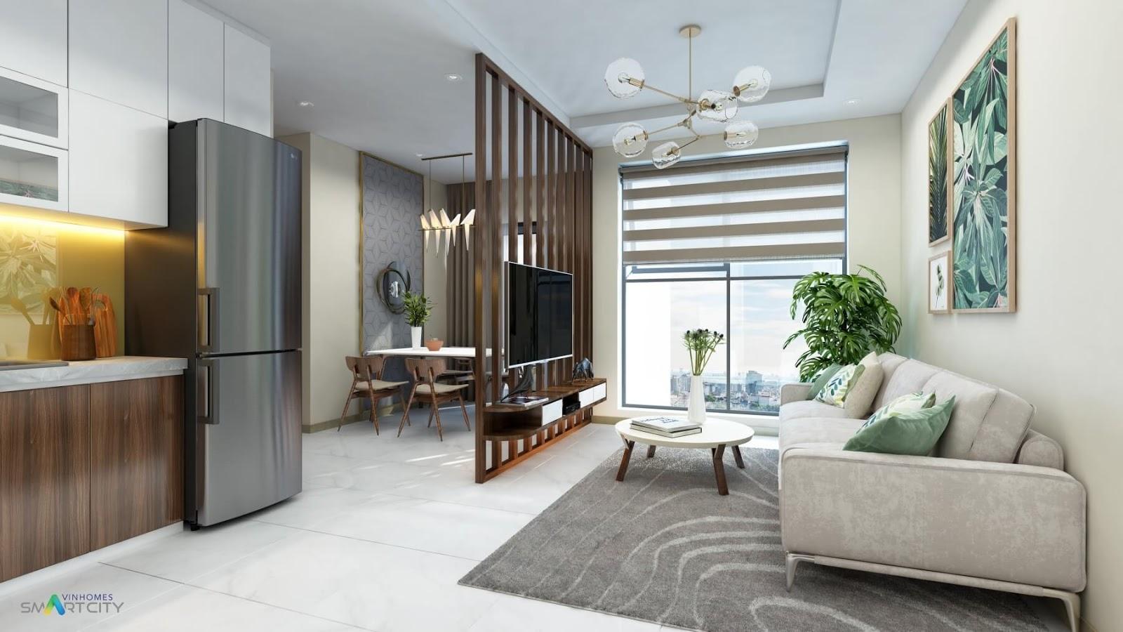 Thiết kế nội thất căn hộ đẳng cấp Vinhomes Tây Mỗ - Đại Mỗ