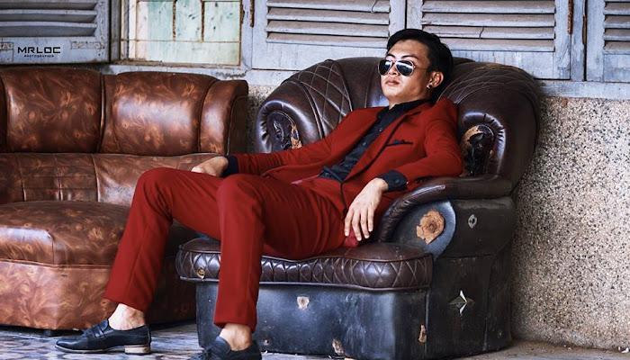 Chàng Trai Áo đỏ Tính cách Ngầu | Style Man