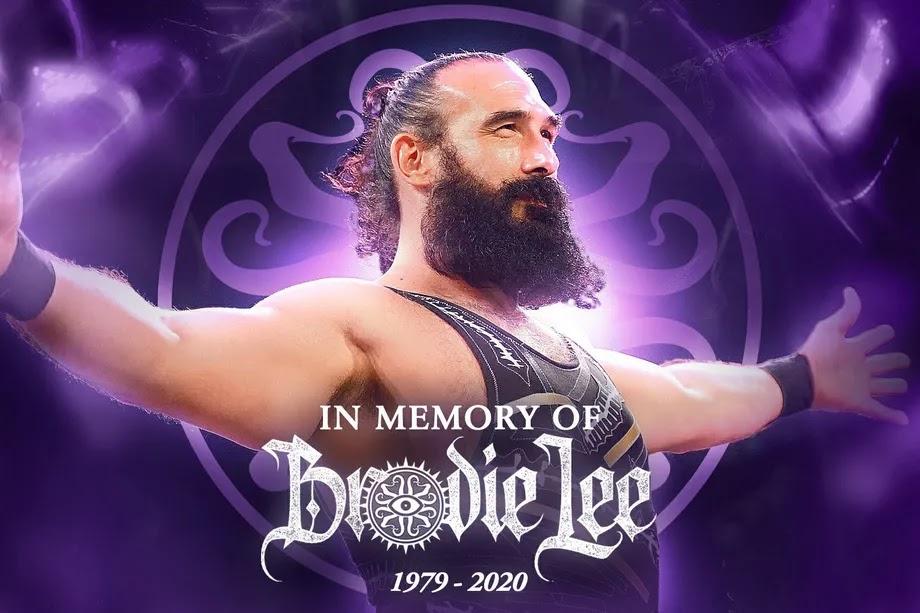 Brodie Lee será homenageado no AEW Dynamite