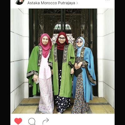 Err nampak poyo pulak posing jubah konvo hahaa Maaf ^^