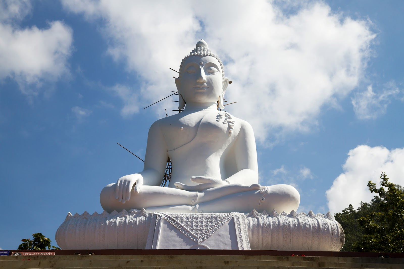 White Buddha, Pai, Thailand