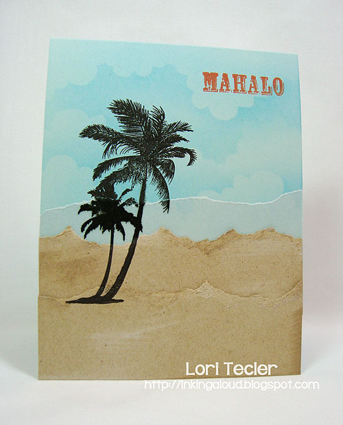 Mahalo-designed by Lori Tecler-Inking Aloud-stamps from Waltzingmouse Stamps