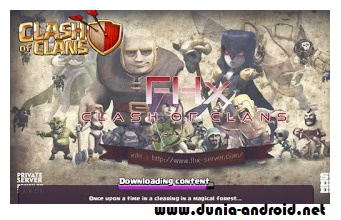 Clash Of Clans Mod Apk FHX V6 Private Server