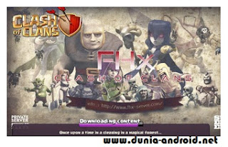 Clash Of Clans Mod Apk new FHX V8 Town Hall 11