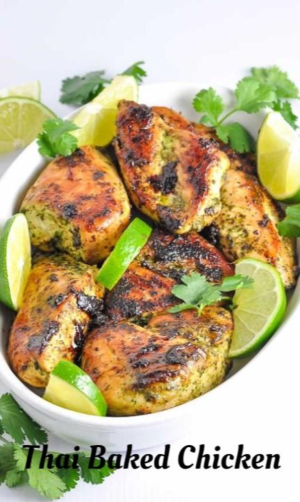 Thai Baked Chicken