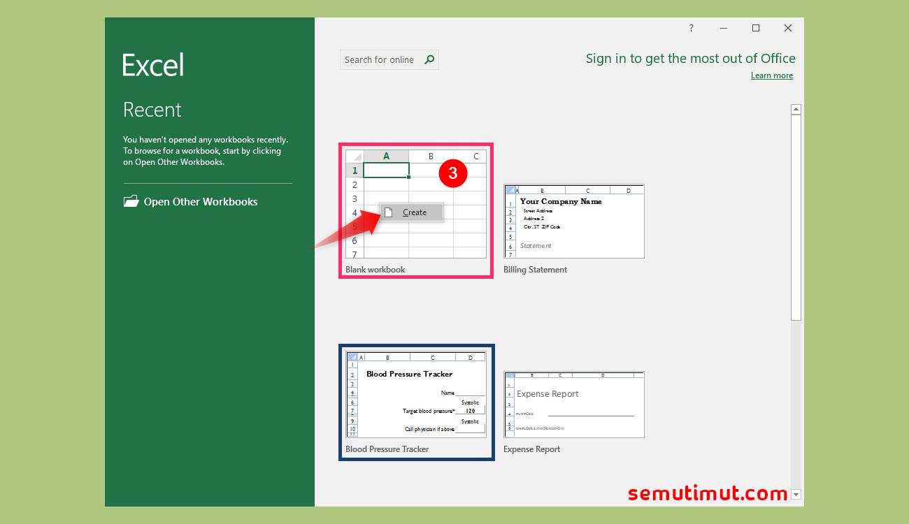 Cara Membuat Dokumen Baru dan Menyimpannya di Excel ...