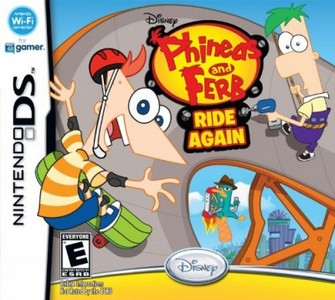 Rom Phineas and Ferb Ride Again NDS