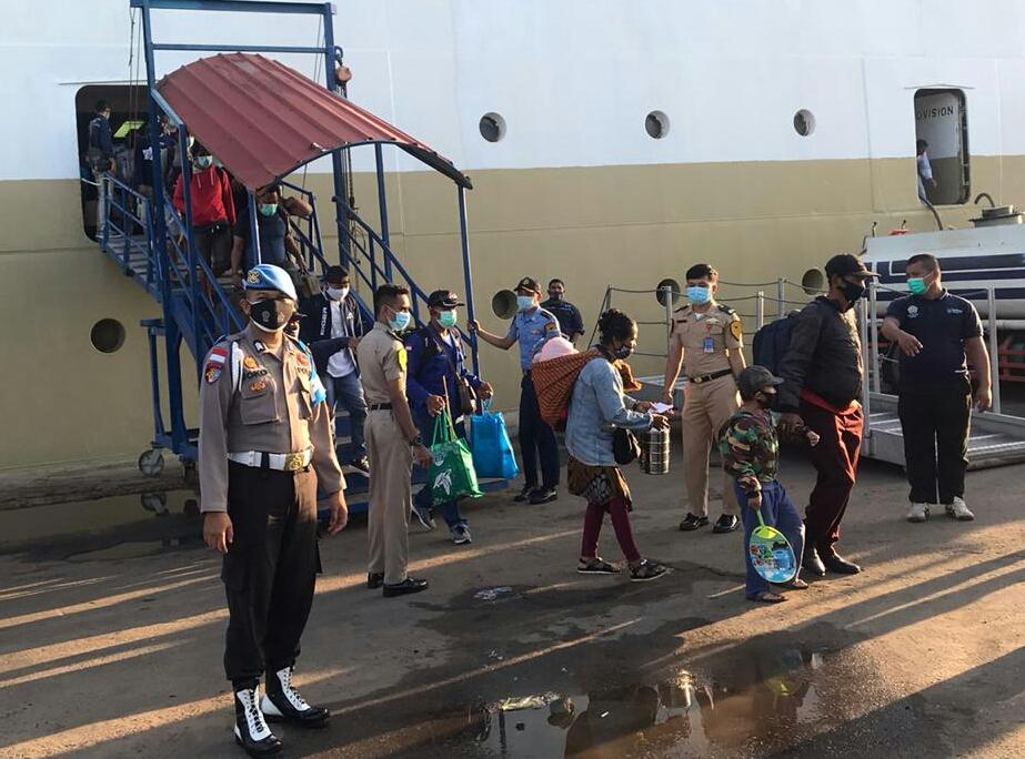 KM.Kelud: Batam Tujuan Medan, Bawa 648 Orang