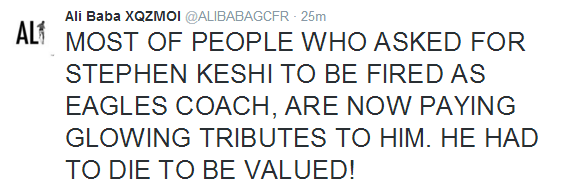 Family member say they will carry out an autopsy on Stephen Keshi, says his death is suspicious