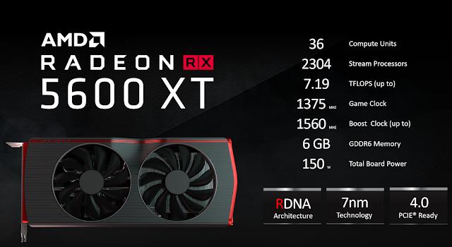 Radeon RX 5600 XT 6GB