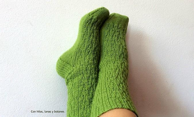 Con hilos, lanas y botones: Calcetines Corcair
