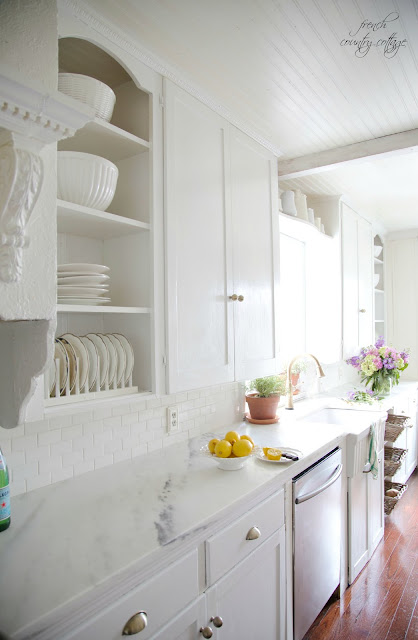 White Kitchen Ideas - French Country Cottage