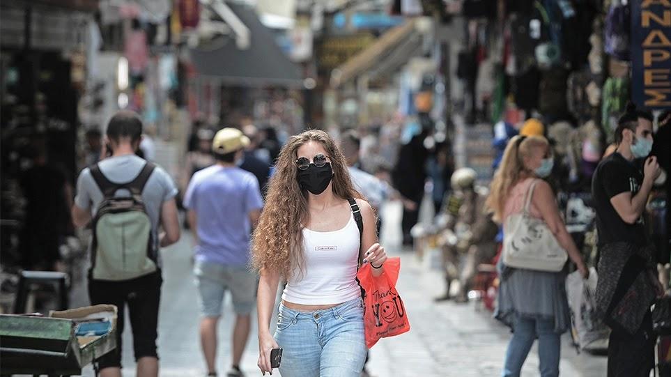 Καταργείται η μάσκα σε εξωτερικούς χώρους και η απαγόρευση κυκλοφορίας