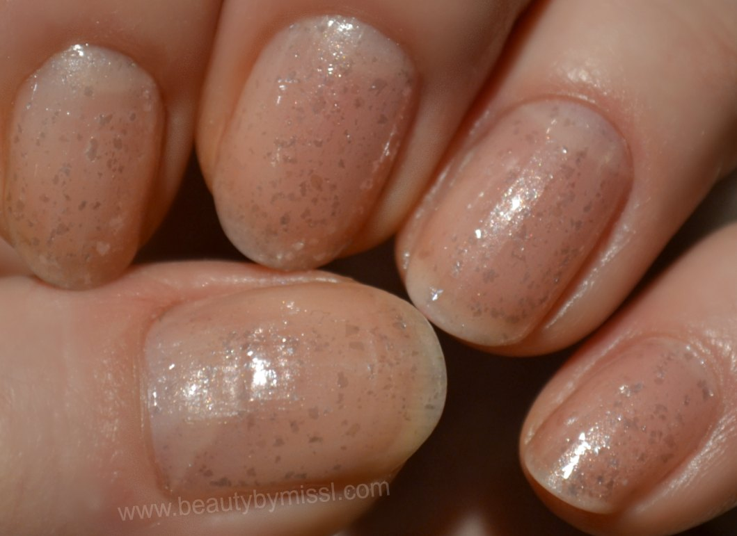 Sally Hansen Diamond Strength 310 Princess Cut swatches
