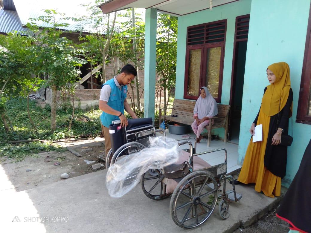 Mualaf Disabilitas Terima Kursi Roda || Aceh Utara
