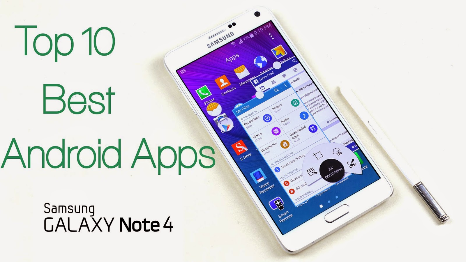 Top 10 Free Best Apps For Galaxy Note 4 Available On Google Play
