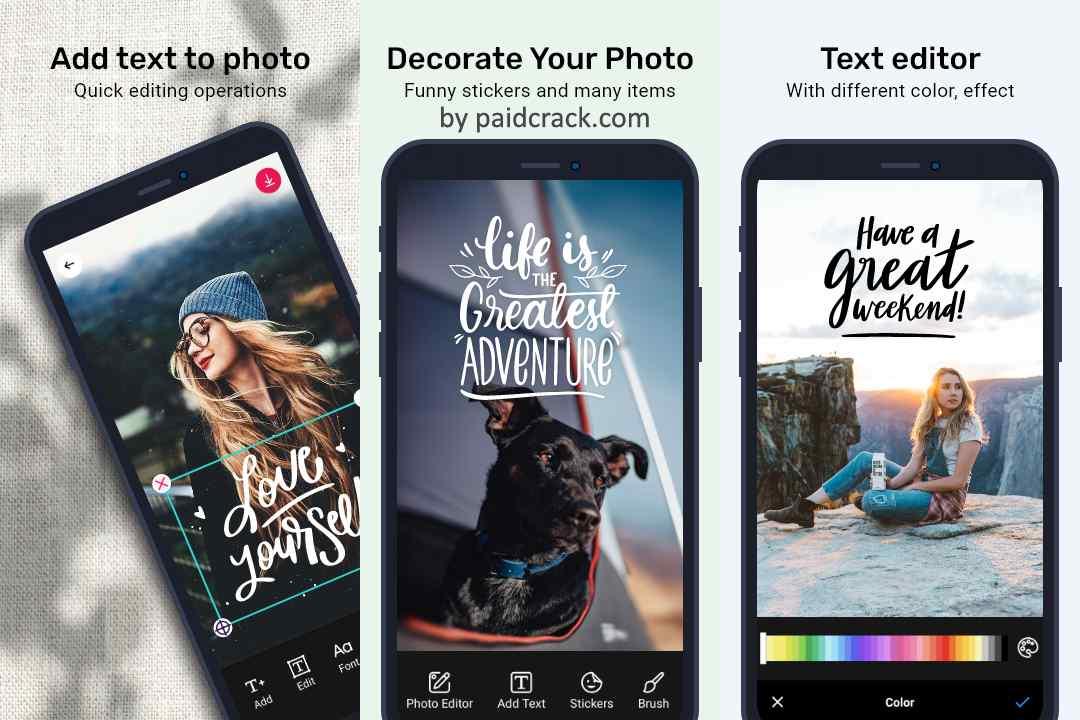 Add Text On Photo - Photo Text Editor Pro Mod Apk 7.4.0