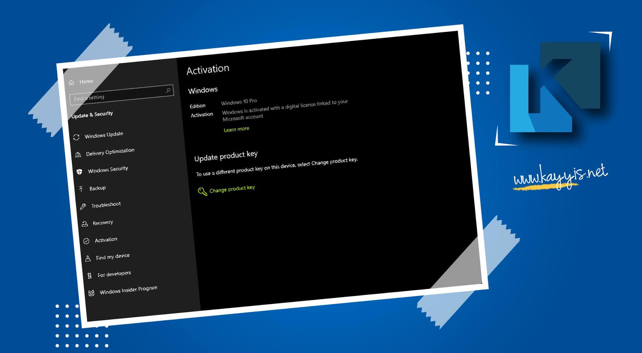Aktivasi Windows 10 Secara GRATIS Tanpa Software Tambahan