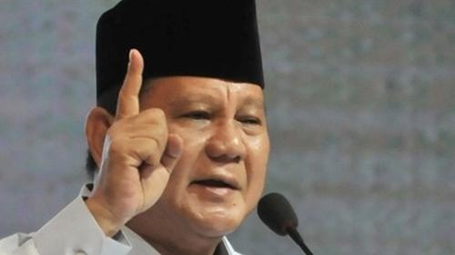 Prabowo Subianto Risih Disebut Jadi Menteri Terbaik di Masa Pandemi