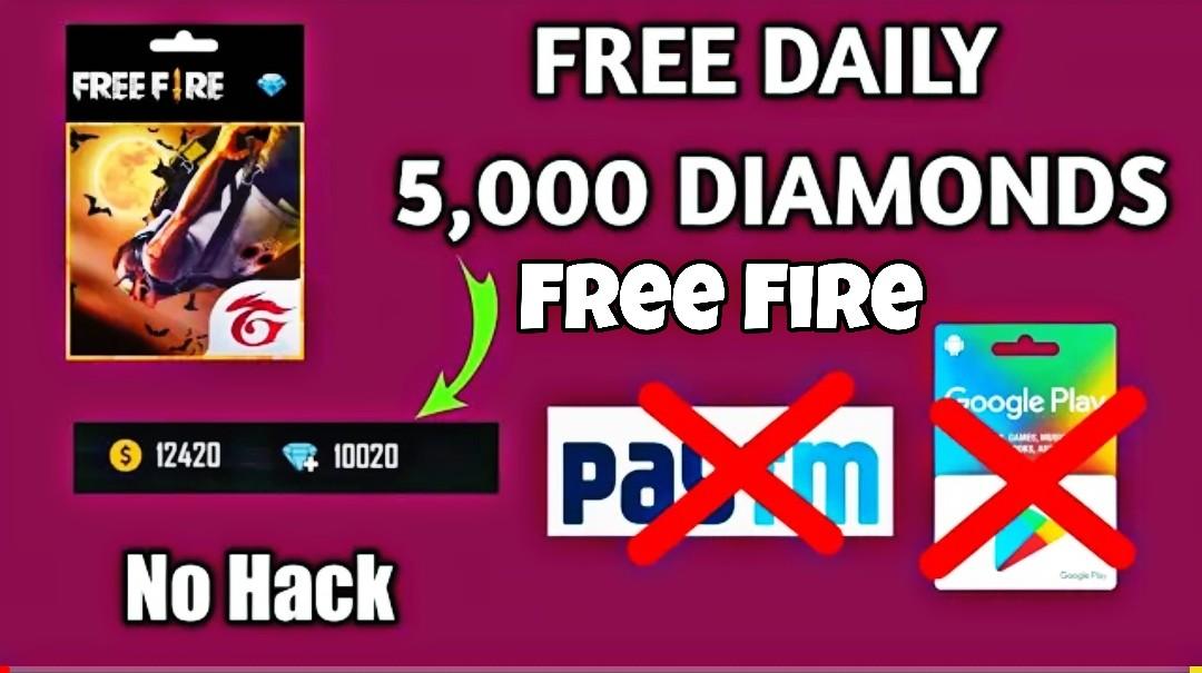 How To Get 5000 Diamonds Daily Without Paytm Without Redeem Code Mera Avishkar