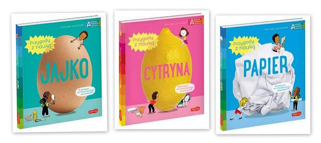 Przygody z nauką: jajko, cytryna, papier