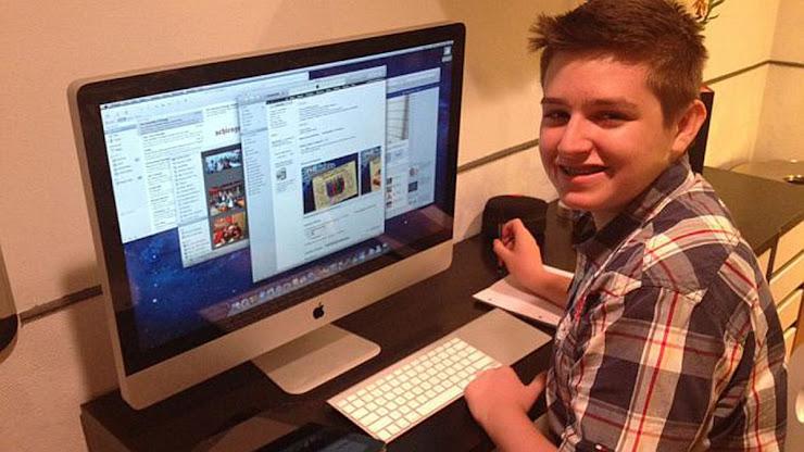 Historia de Michael Sayman, joven millonario con apps